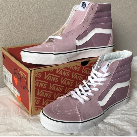 df91694fd4985f vans sk8-hi sea fog true white